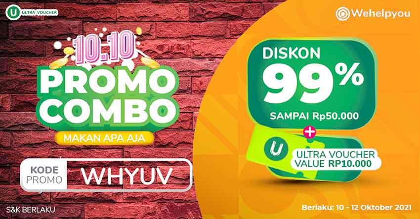 Meriahkan Kampanye 10.10, Wehelpyou Eat & Sell Dukung UMKM Lewat Ragam Promo Makan