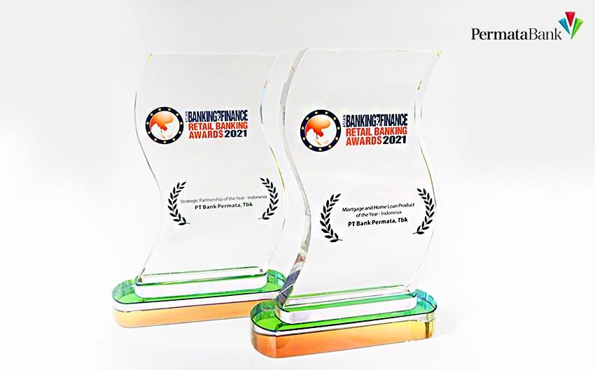 PermataBank Raih Dua Penghargaan di Asian Banking and Finance, Retail Banking Awards 2021