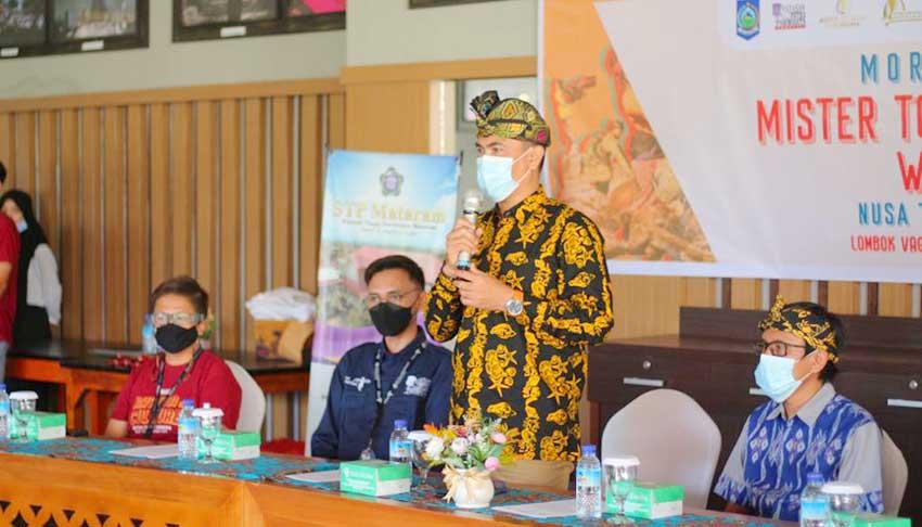 Ajang Pemilihan Mister Tourism 2021 Dibuka Kadispar NTB