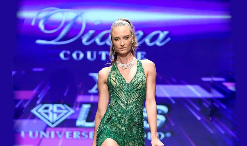 Kolaborasi Diana Couture dan UBS Gold Bawa Indonesia Tampil di Los Angeles Fashion Week